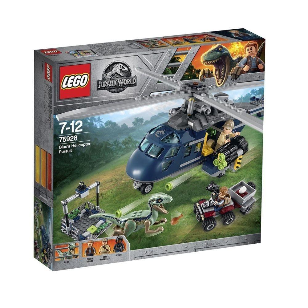 LEGO Jurassic World - Blue's Hubschrauber Verfolgungsjagd (75928) - Bestpreis