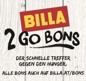 Billa 2 Go Bons - bis 3.7.2019