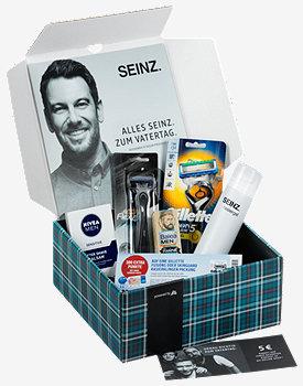 [DM] SEINZ. Lastminute Vatertag's Geschenk Pflege Box