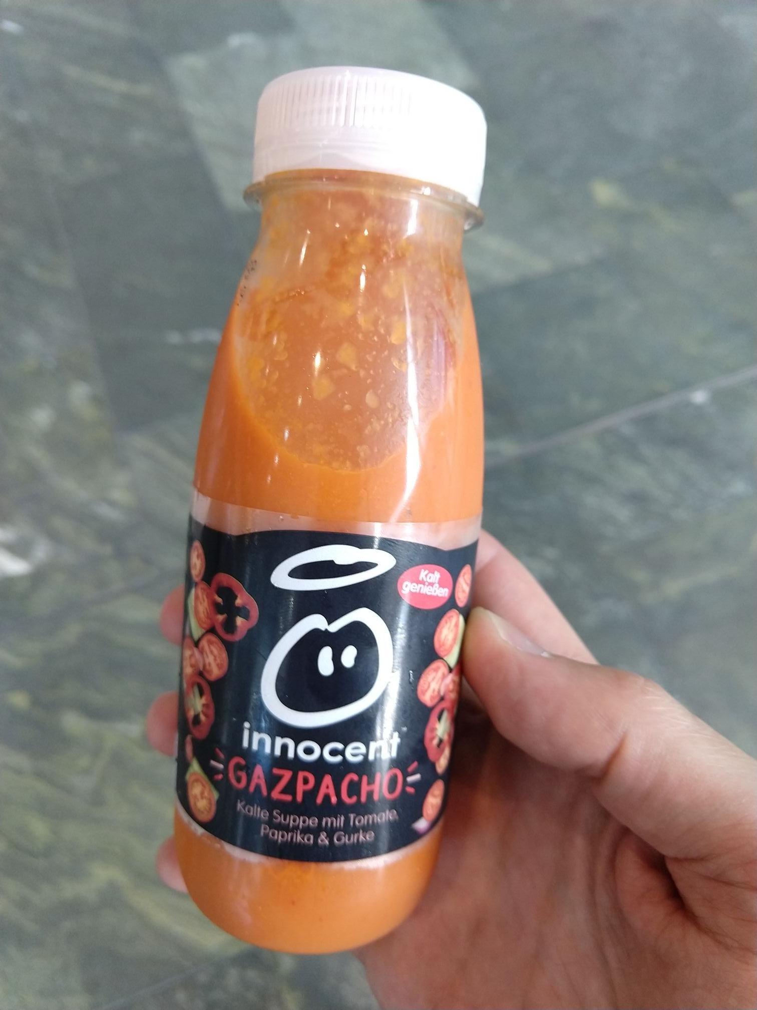 innocent Gazpacho 250ml for free