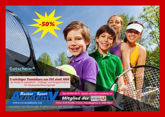 Tenniskurs zum guten Kurs (55€ für 5 Wochen)
