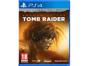Shadow of the Tomb Raider Croft Edition (PS4) - auch bei Saturn