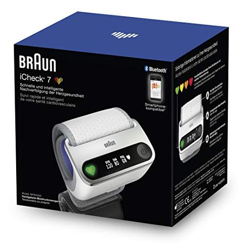 Braun iCheck 7 Handgelenks-Blutdruckmessgerät
