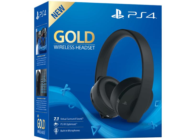SONY Wireless-Headset Gold Edition für PlayStation 4 und PlayStation VR