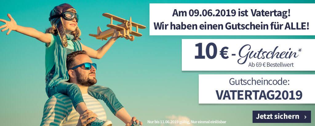 GetGoods: 10€ Vatertags-Gutschein ab 69€ Bestellwert