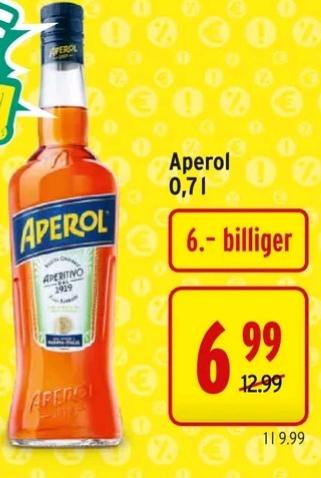 [Merkur] It's Aperol-Time | Aktion & Marktguru Cashback