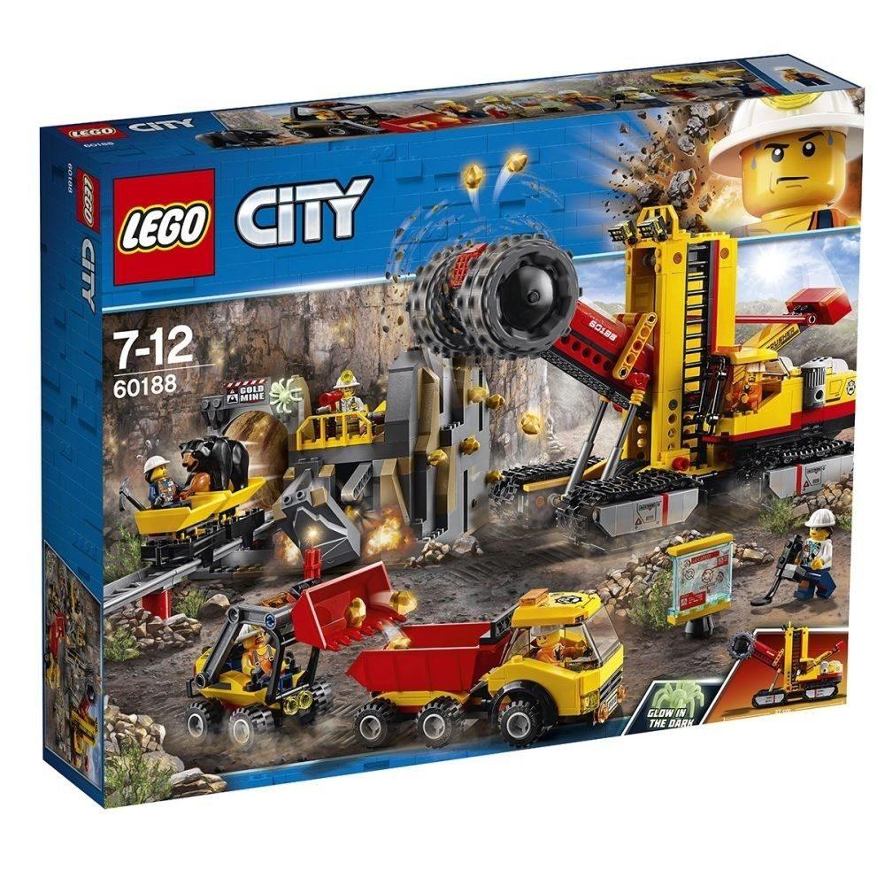 LEGO City Bergbauprofis - Bergbauprofis an der Abbaustätte (60188) - Bestpreis