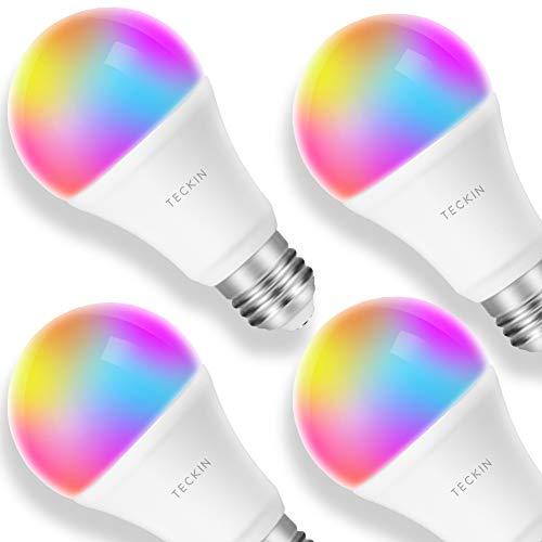 4Stk. Smart WLAN RGB E27 LED Glühbirnen