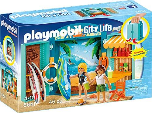 """Playmobil City Life - Aufklapp-Spiel-Box """"Surf Shop"""""""
