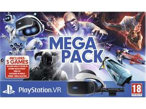 Days of Play - SONY PlayStation VR Megapack: PlayStation VR + PlayStation Camera + 5 Spiele