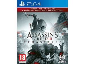 Assassin's Creed 3 - Remastered [PS4/XBOX]