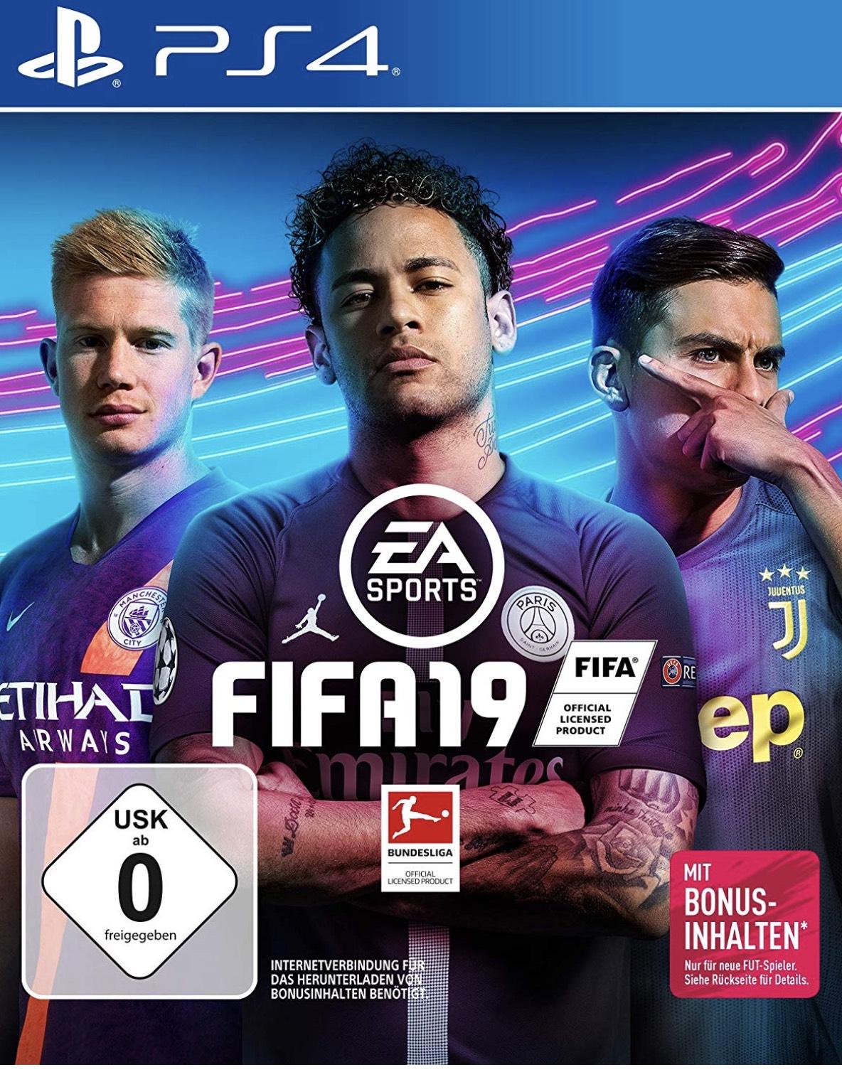 Fifa 19 für PlayStation 4 und Xbox One
