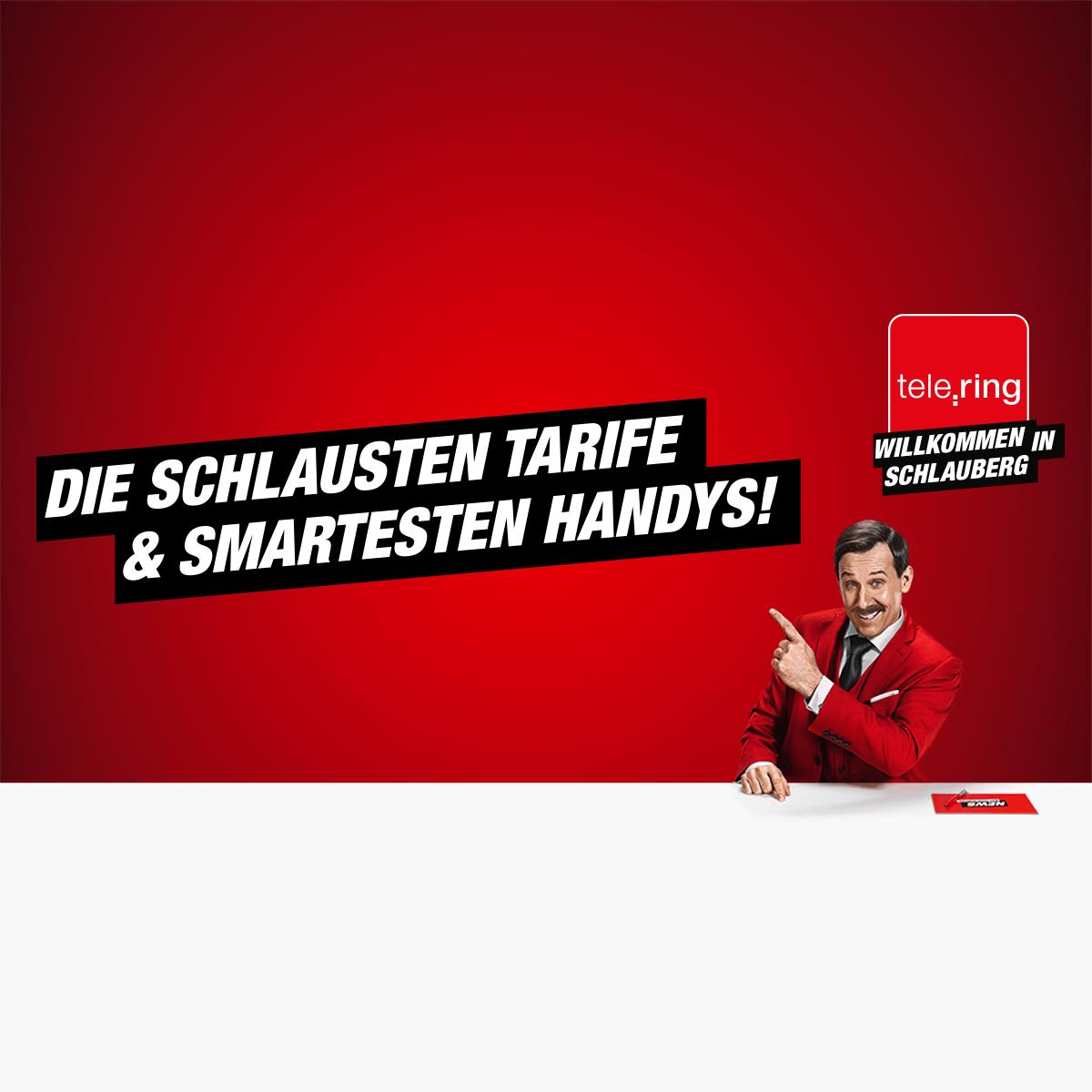 TELERING: -20 % auf die Grundgebühr im Tarif Schlaue Kombi Mini & Maxi, Gratis Aktivierung, Nur Online