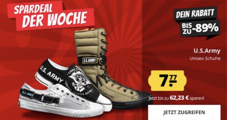 U.S. Army Schuhe stark verbilligt