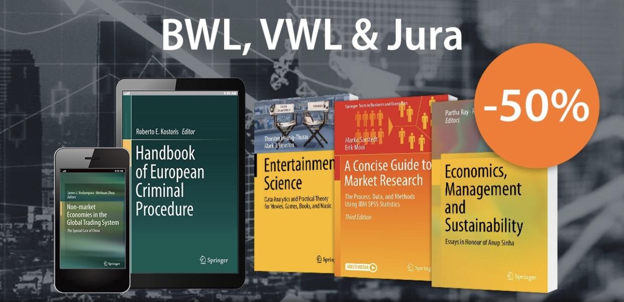 (Schlauer Preisjäger) Über 23.000 Business, Management, VWL & Jura eBooks um 50% günstiger