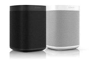 Sonos One Smart Speaker 2-Raum Set, weiß / schwarz