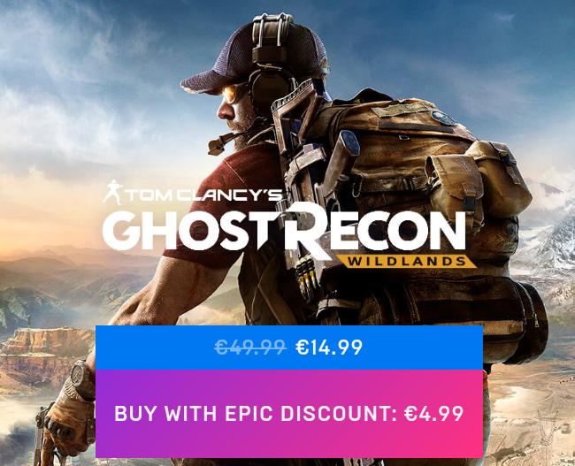 Sale im Epic Store, zusätzlich 10€ Rabatt