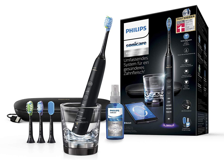 Philips Sonicare DiamondClean Smart Schallzahnbürste HX9924/13 mit 5 Putzprogrammen