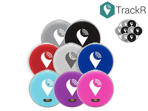 8x TrackR Pixel (Bluetooth-Peilsender)