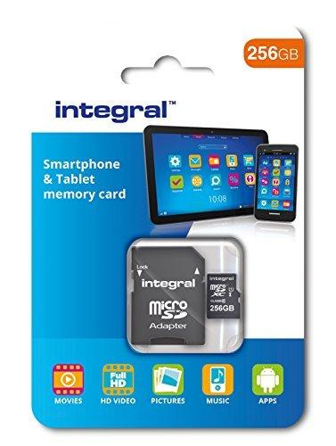 Integral R80 microSDXC 128GB / 256GB Kit, UHS-I U1, Class 10