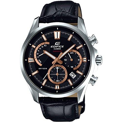 Casio Edifice EFB-550L-1AVUER Armbanduhr (Datumsanzeige, Stoppuhr, 24h-Anzeige, Chronograph, wasserdicht bis 10bar)