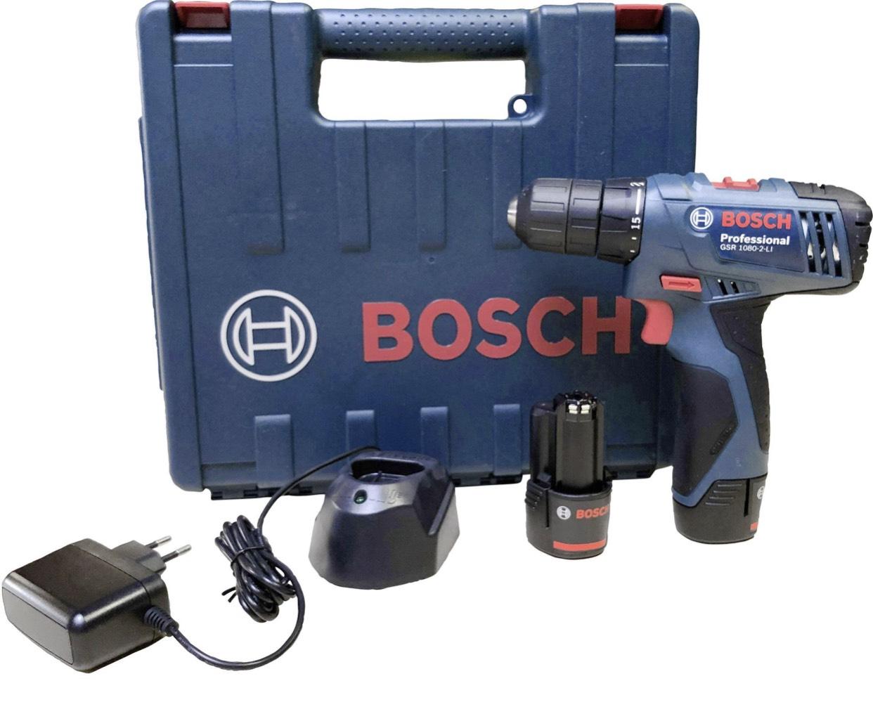 Bosch Professional Akku-Bohrschrauber 10.8 V 1.5 Ah inkl. 2. Akku