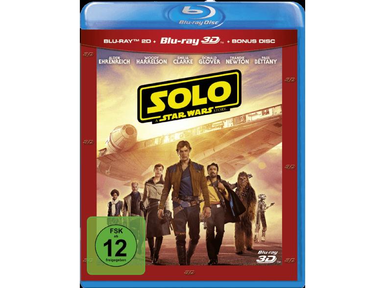 Preisfehler? - Solo: A Star Wars Story (3D Blu-ray + Blu-ray 2D + Bonus-Blu-ray)