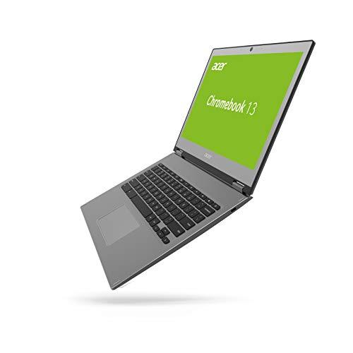 Acer Chromebook 13 (13,3 Zoll QHD IPS Multi Touch, Aluminium Unibody, 17mm flach, 2x USB 3.1 (Type-C),Google Chrome OS) Anthrazit