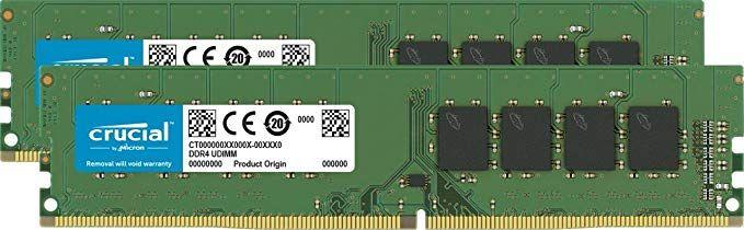 Crucial DIMM Kit 16GB, DDR4-3200, CL22 (CT2K8G4DFS832A)