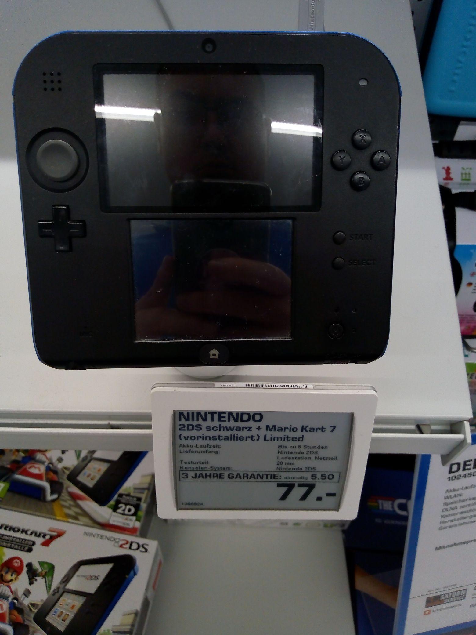 [Saturn Linz] Nintendo 2DS Konsole plus Mario Kart 7