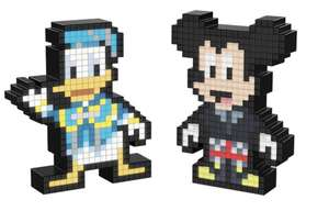 Pixel Pals - Kingdom Hearts Mickey oder Donald