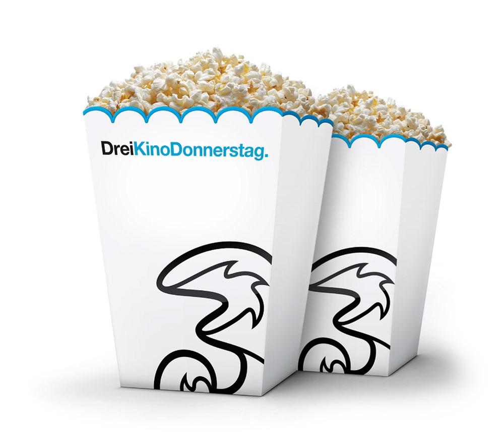 Drei Kino Donnerstag - zwei Tickets zum Preis von einem