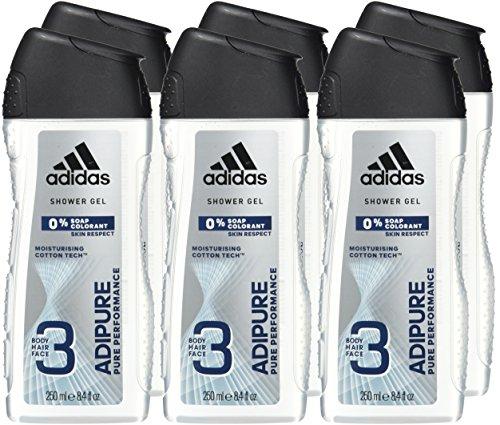 adidas  3in1 Duschgel 6er Pack (6 x 250 ml)