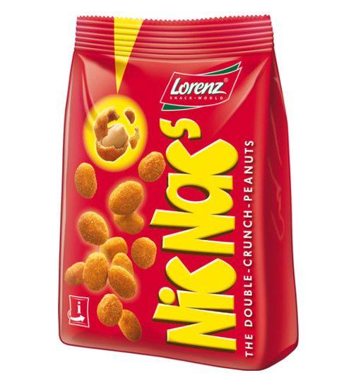 2 Packungen NicNac's Nüsschen