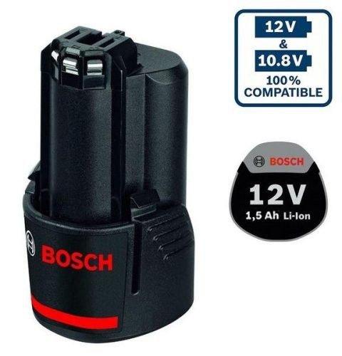 Bosch Werkzeug-Akku 10.8/12V, 1.5Ah, Li-Ionen (1600Z0002W)