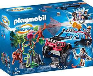 Playmobil Super 4 - Monster Truck mit Alex und Rock Brock (9407)