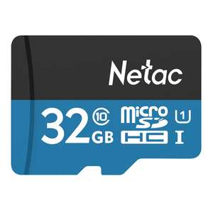 Netac P500 32GB Micro SD Card - Blau