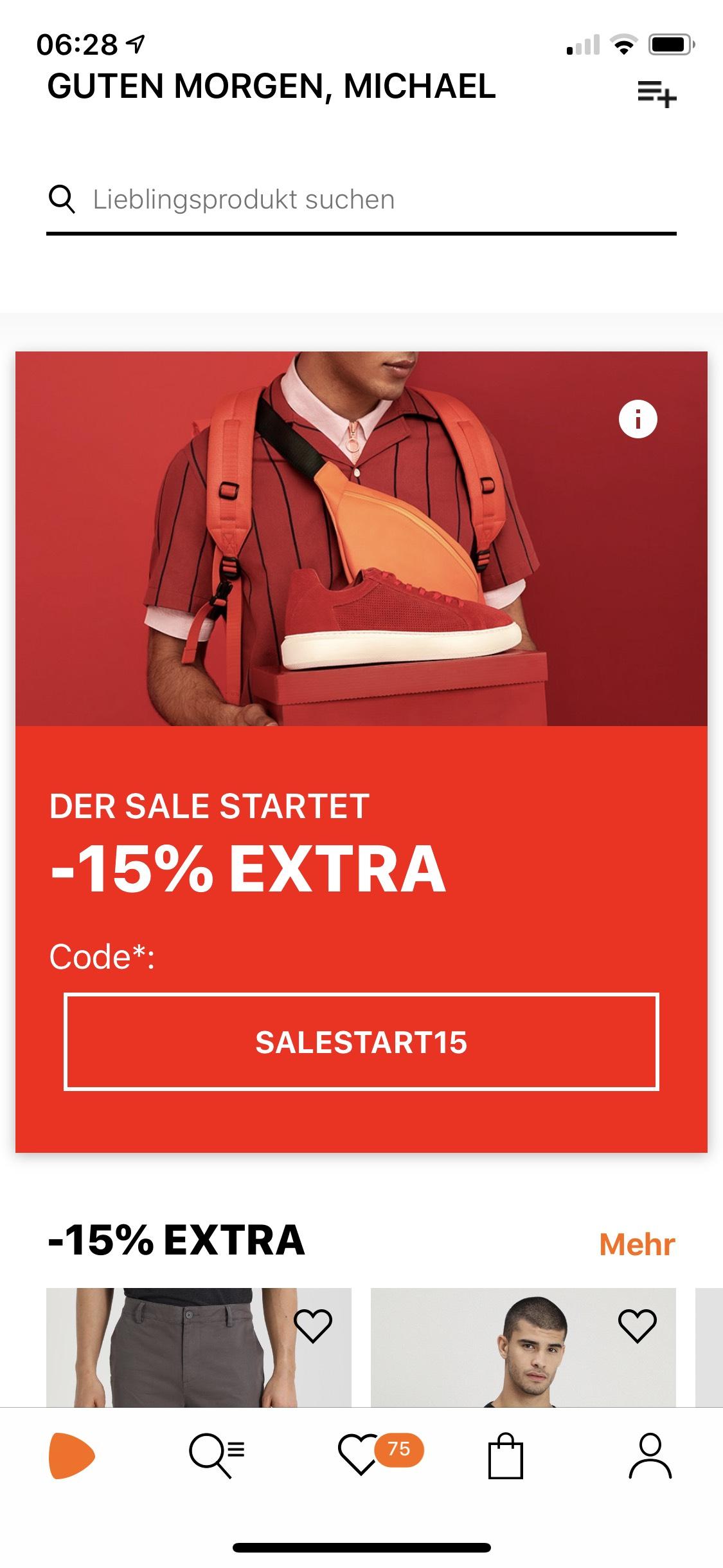 Zalando 15% auf Sale