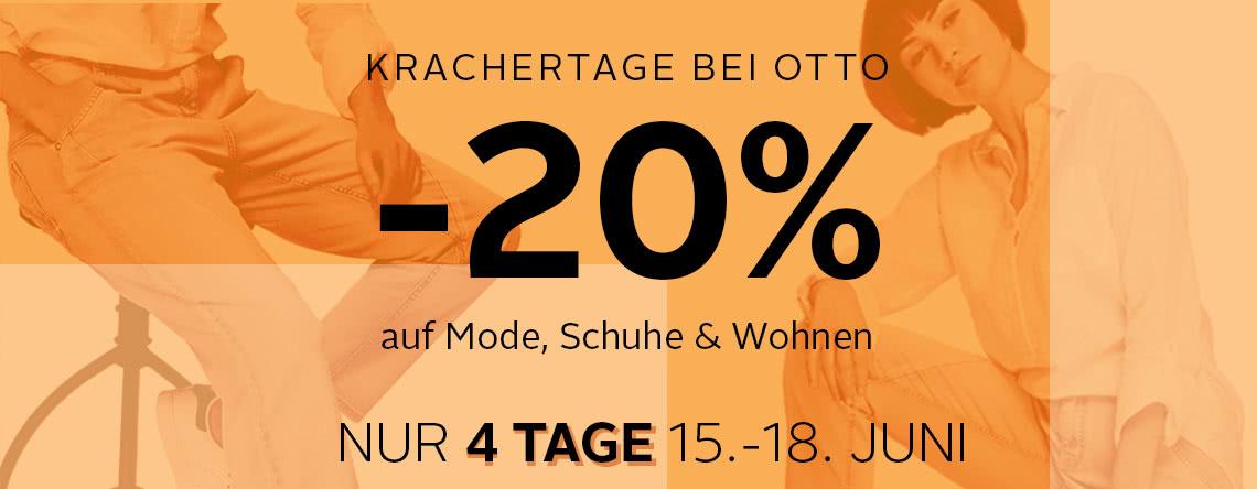 -20% auf Mode, Schuhe und Wohnen
