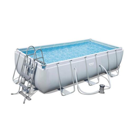 Bestway Power Steel Frame Pool Set 404 x 201 x 100 cm mit Kartuschenfilter (56441)