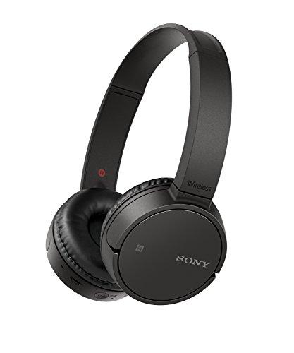 Sony WH-CH500 kabelloser Bluetooth Kopfhörer (Bis zu 20 Stunden Akkulaufzeit, Freisprechfunktion, NFC, schwenkbares Design)
