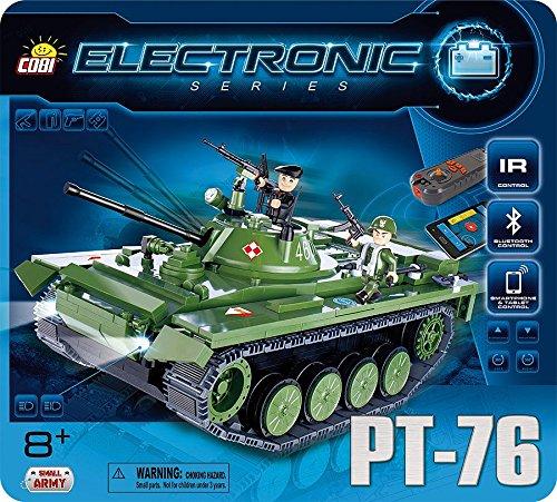Small Army Electronic Tank PT-76 Bluetooth ( Cobi 21906)