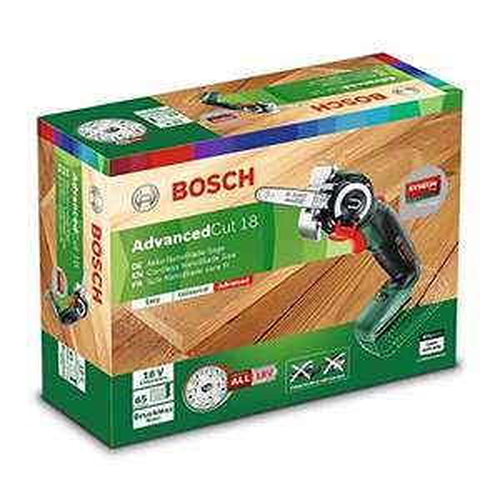 Bosch DIY AdvancedCut 18 Akku-Schwertsäge solo