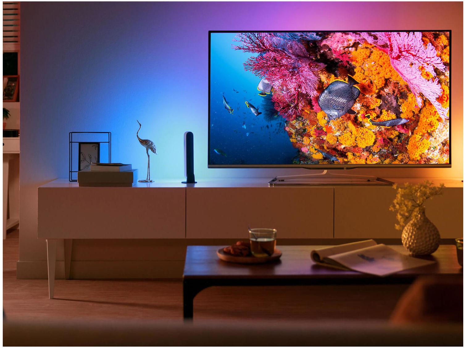 "Philips ""65PUS8503"" 65"" UHD HDR10 TV mit Ambilight"