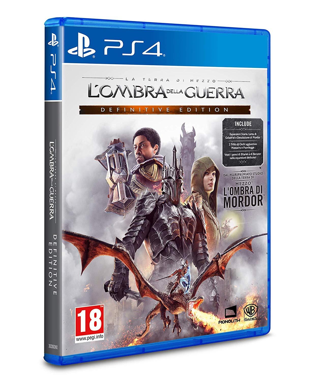 Warner Bros Mittelerde: Schatten des Krieges - Definitive Edition (PS4 / Xbox One)