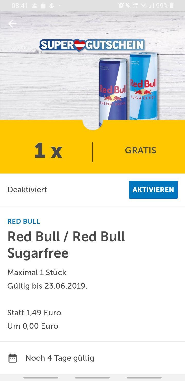 Gratis Red Bull bei Lidl
