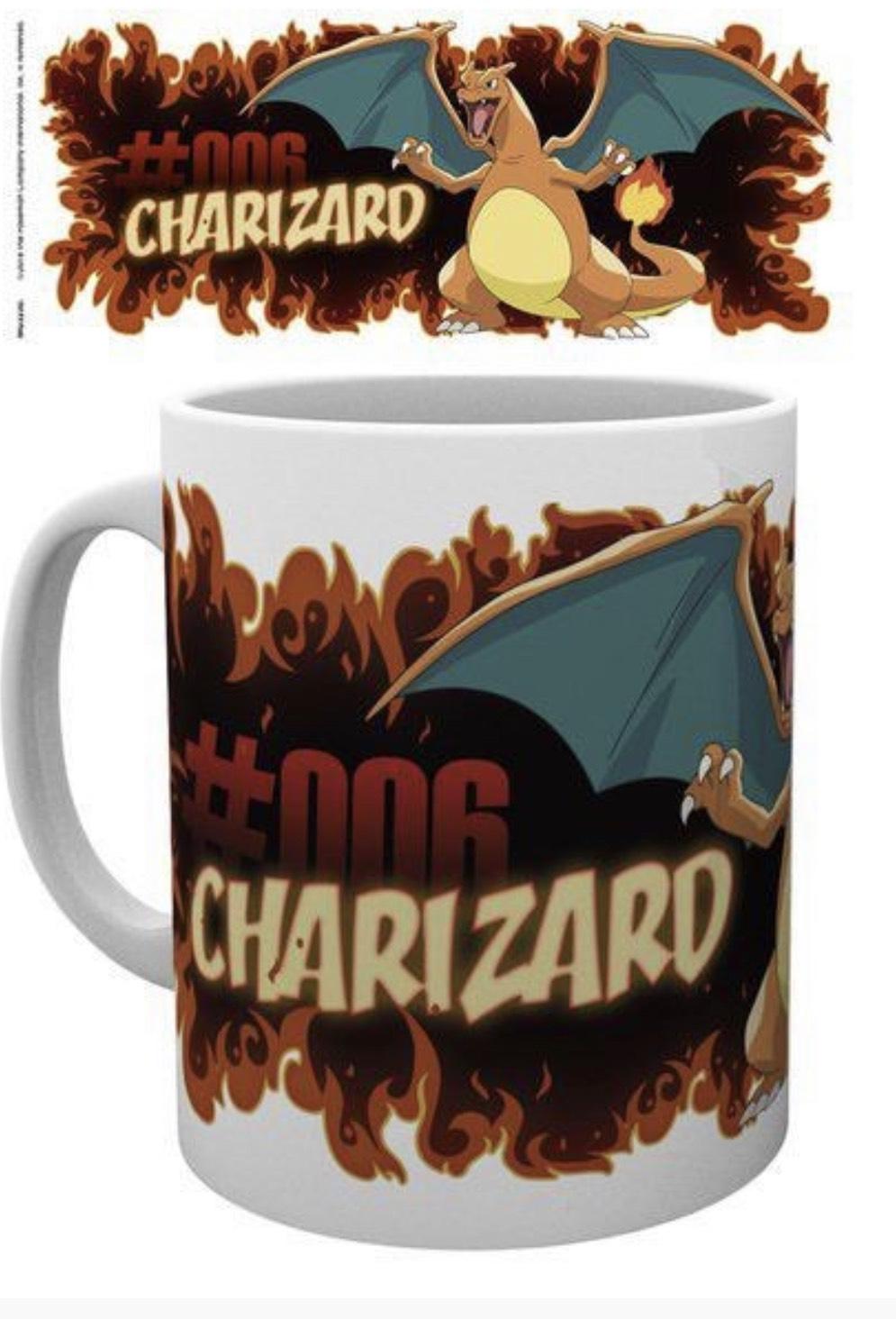 Pokémon - Tasse Glurak, Offiziell Lizensiert.