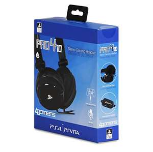 4Gamers Pro4-10 Stereo Gaming Headset (PS4/PS Vita)