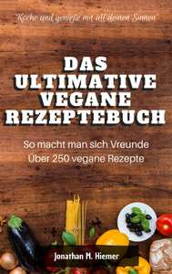 Amazon: Das ultimative vegane Rezeptbuch GRATIS zum Download