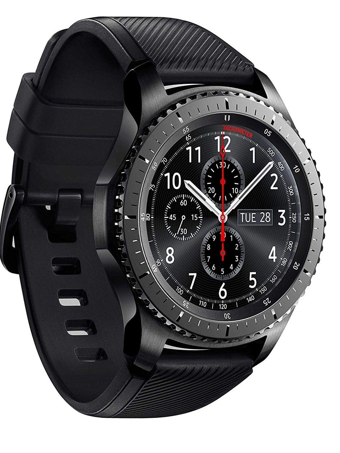 Samsung SM-R760NDAADBT Gear S3 frontier Smartwatch